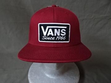 バンズ【VANS】SINCE1966ワッペンロゴ刺繍付CAP