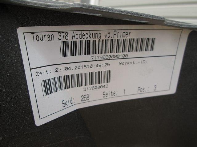 ★ゴルフ トゥーラン 1TCZD 新品 フロントバンパーフェース < 自動車/バイク