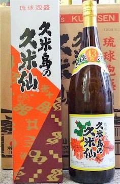 43度 久米島の久米仙  でいご 古酒ブレンド 1.8L