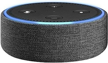 Echo Dot (第2世代) 用ファブ潟bクケース チャコール