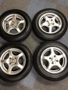 0082897)激安国産新品グッドイヤ-スタッドレスタイヤAWセット145/80R13送料無料
