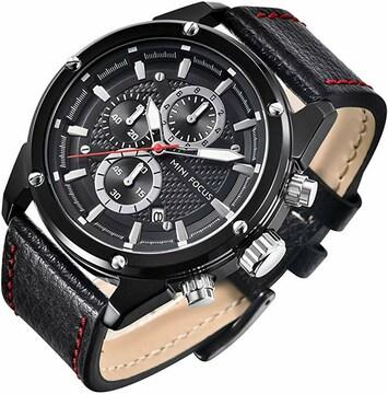 腕時計 メンズ時計 軽量アナログ 防水 ビジネスシンプル