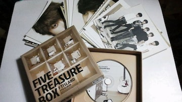 FTISLAND FIVE TREASURE BOX