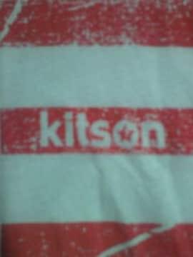 Kitson キットソン UNIQLO ユニクロ コラボ アメリカ 国旗 デザイン Tシャツ ホワイト L