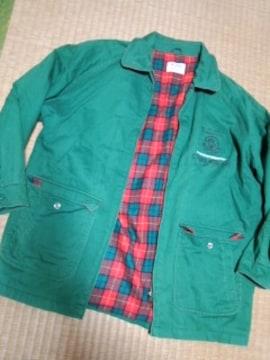 グリーンジャケット カメラマンコート