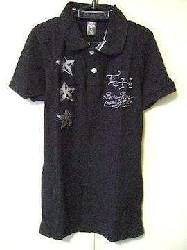 ‡ED HARDY‡エドハーディー‡刺繍‡半袖ポロシャツ‡