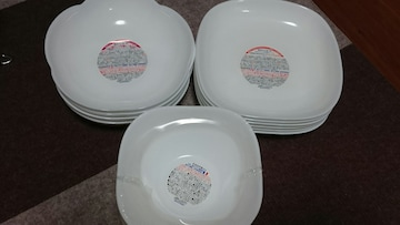 山崎パンお皿三種類16皿