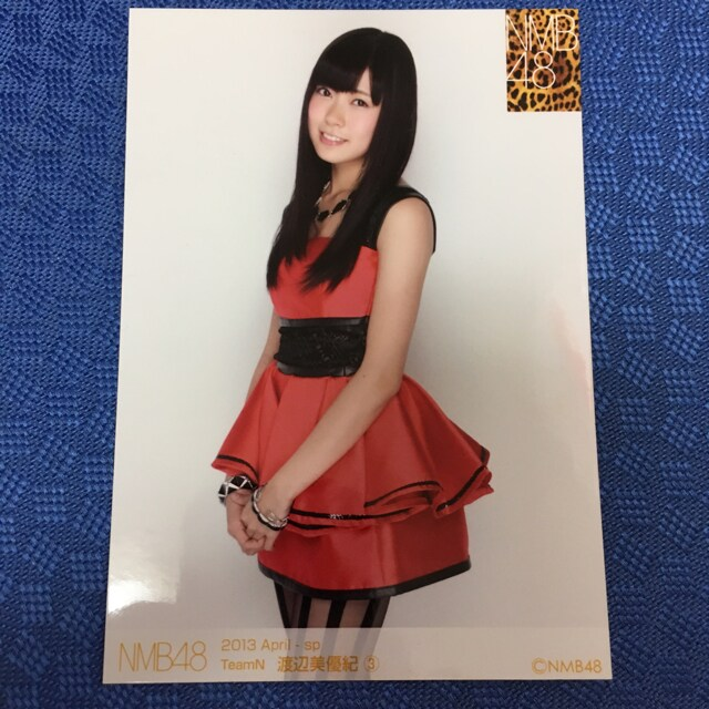 NMB48 渡辺美優紀 2013.April 生写真 AKB48  < タレントグッズの