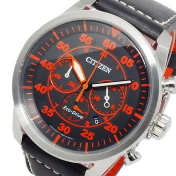 シチズン エコドライブ メンズ クロノ 腕時計 CA4210-08E