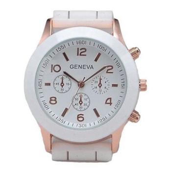 残1個790円★超人気 可愛いおしゃれデザイン腕時計 白