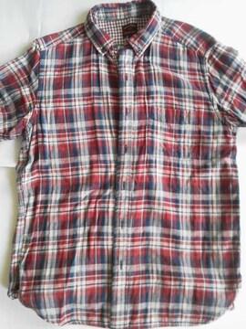 �潟rームス 半袖シャツ(綿100%) Mサイズ