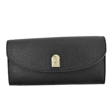 ◆新品本物◆フルラ SLEEK 長財布(BK)『PCM9ABR』◆