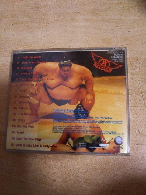 ★【CD】 AEROSMITH BIG ONES エアロスミス ビッグワンズ★ < タレントグッズの