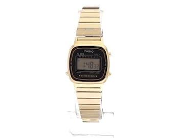 カシオCASIO腕時計ゴールドレディースチープカシオデジタル