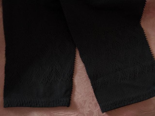 ワコール/Gra・p/グラッピー/動く姿かろやかレギンス/BL/黒/くるぶし丈/M-L < 女性ファッションの