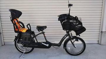ブリジストン アンジェリーノプティット AG20-5 3人乗り 20インチ 3段 自転車 子供