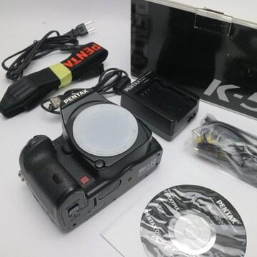 ●安心保証●美品●PENTAX K-5 ブラック●