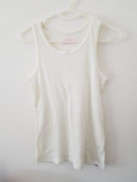 白袖無しシャツ160