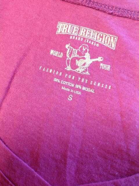 ◆True Religion◆トゥルーレリジョン◆レディースTシャツ◆ < ブランドの