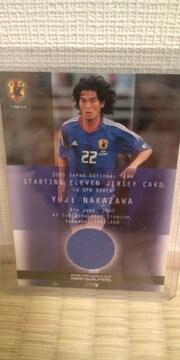 2005 日本代表 中澤佑二 ジャージカード