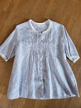スタジオクリップ*ピンタックシャツ