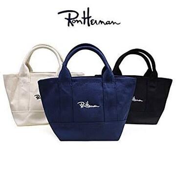 Ron Hermanロンハーマン【新品】キャンパスハンドバッグ White