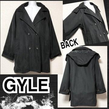 【新品】フロントWボタンデザインスウェードタッチジャケット