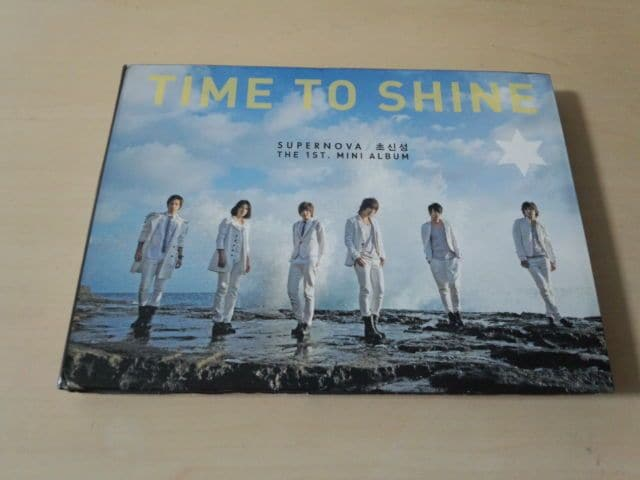 CD「Time To Shine : 超新星 1st Mini Album」韓国K-POP●  < タレントグッズの
