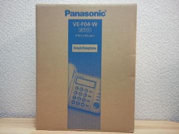 Panasonic デザインテレホン VE04-W