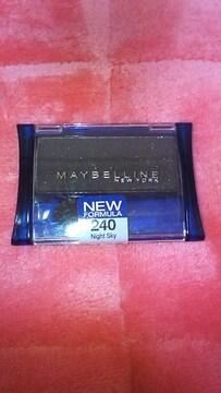メイベリン EXPERTWEAR ブラック キラキラ ラメ アイシャドー 240ハワイ購入 新品激安