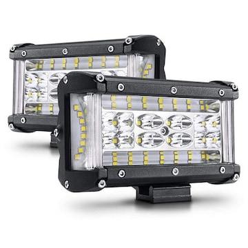 led作業灯 ワークライト 44連5インチ12v-24v兼用 2個セット