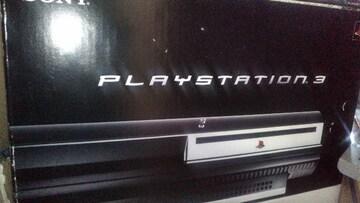 初期型PS3本体 60GB ジャンク品 箱・ケーブル・説明書・セット