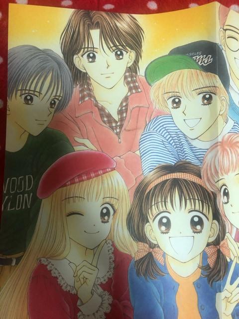 即決。りぼん付録 ママレードボーイメモリアルポスター&シール < アニメ/コミック/キャラクターの