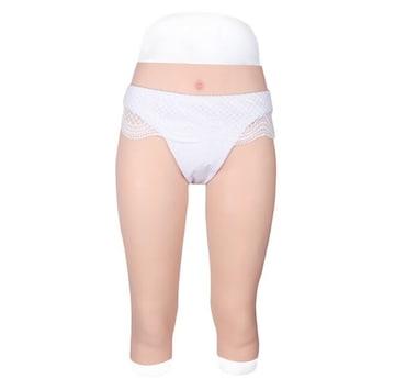 性転換パンツ 七分丈 美尻 変性 変装用 コスプレ 導尿可能 仮装