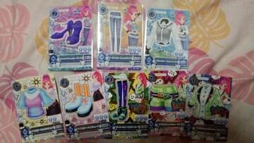 アイカツ☆グミ7☆2014年第3〜4☆セイラちゃん8枚セット売り!!