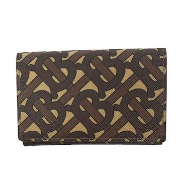 ◆新品本物◆バーバリー MS LARK 3つ折財布(BR)『8022945』◆