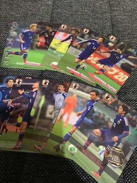 【サッカー】2014 JAPAN NATIONAL TEAM CARD 10枚セット(3)