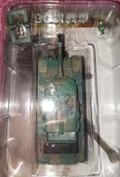 ワールドタンクミュージアム大戦略エディション90式戦車二色迷彩ミニチュアフィギュア