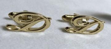 正規美レア S.T.Dupont デュポン Dロゴカフス金 ゴールドカフリンクス アイコンボタン