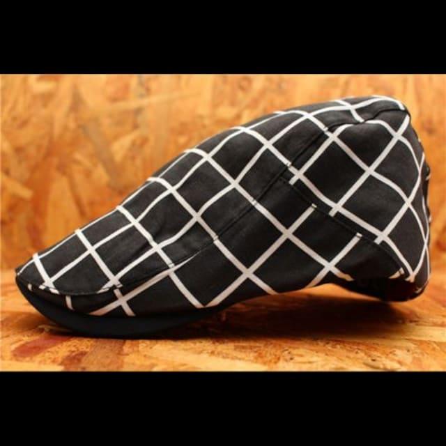 送料無料箱入り ハンチング帽・キャップ 黒 PTH4-5 < 男性ファッションの