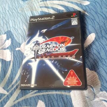 ドラッグオンドラグーン 2 封印の虹 背徳の黒 PS 2ソフト