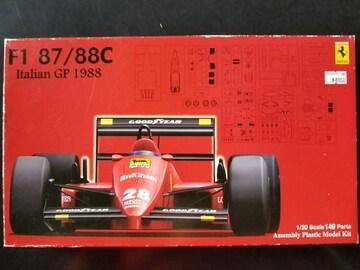 ☆1/20 フジミ フェラーリF1 87/88C イタリアグランプリ スケルトンボディ