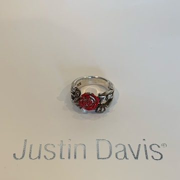 ◆JUSTIN DAVIS◆SACRED ROSE RING◆17号◆薔薇リング◆