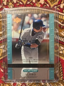 ●イチロー カード Vol.235 2002UD OVATION MLB マリナーズ