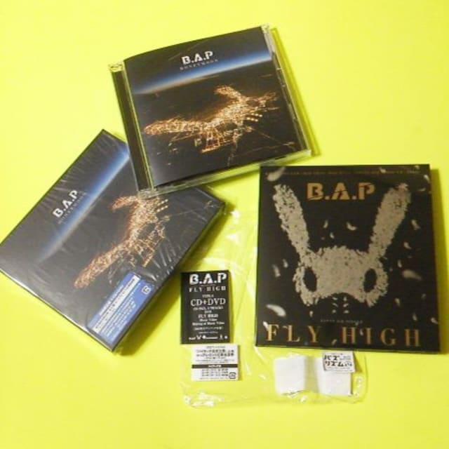 B.A.P★CD9点(新品3点)&特典DVD3点セット ヨングク/ヒムチャン/デヒョン/ヨンジェ < タレントグッズの