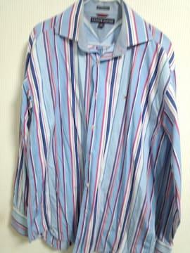 トミー ストライプシャツ