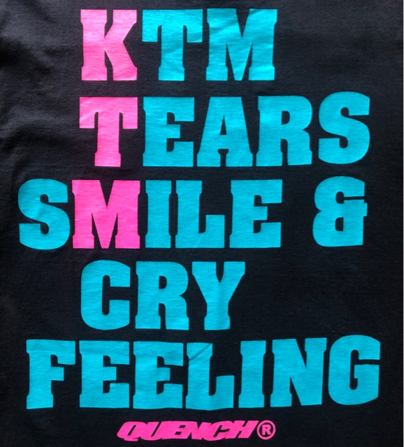 《ケツメイシ × クエンチ》激レア Tシャツ KTM QUENCH スト系 < タレントグッズの