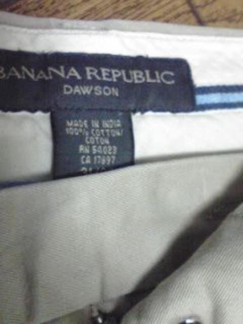 バナナリパブリック 上質チノパン 31×30 < ブランドの