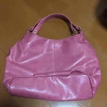 送料込み♪濃いピンク色 ショルダーバッグ(〃ω〃)