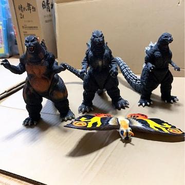 ゴジラ フィギュア 4体
